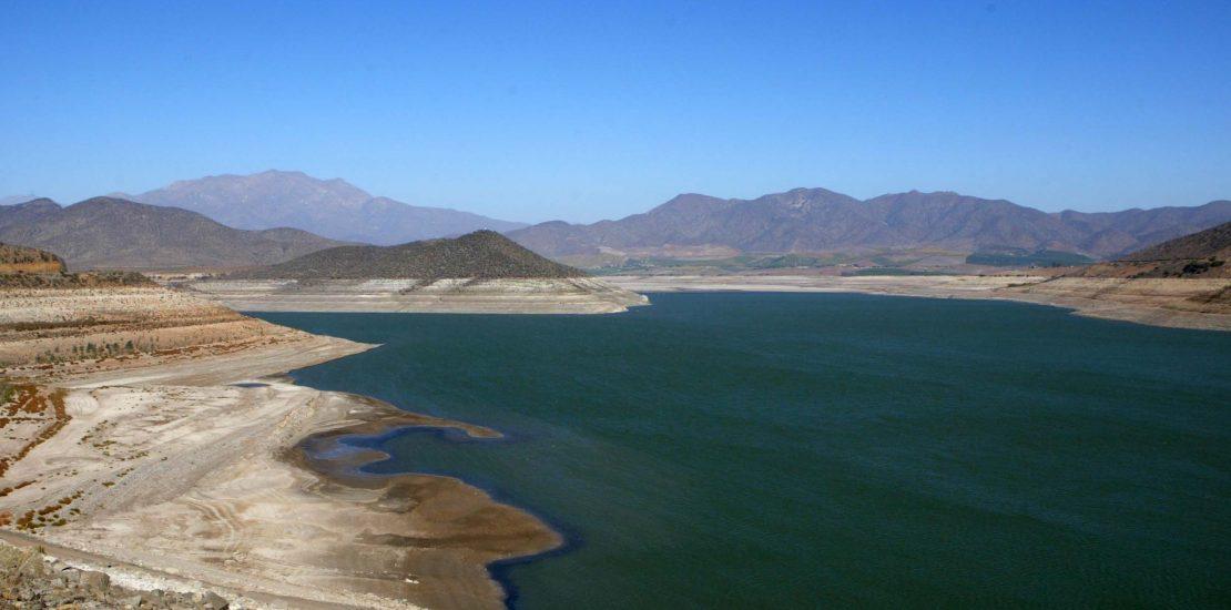 Embalse la paloma monte patria provincia del Limar', afectado por la fuerte sequia, en estos momentos se encuentra al 3% de su capacidad.17-04-2013 FOTO/HERNANCONTRERAS